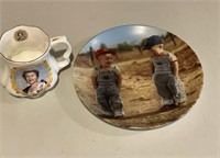 Collector plate & Cup