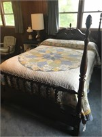 4 Poster Full Size Bed - Beautiful
