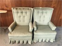 2 Cloth Chairs