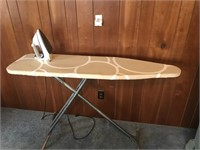 B&D Iron and Ironing Board