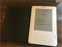 Amazon Kindle with cord