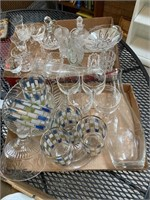Dishes and glassware