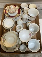 Queen Anne Dishes, plates, Bells
