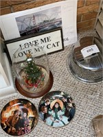 Cake Plate, pictures, gone with wind plates