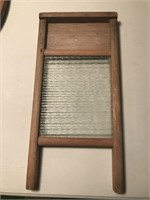 Washboard with Glass