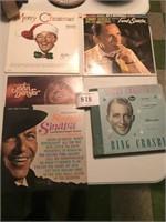 5 Records- Frank Sinatra, Bing Crosby, John Denver