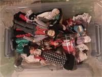 Assorted Dolls