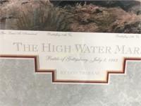 """THE HIGH WATER MARK"" FRAMED PRINT"