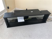 BLACK PAINTED TV STAND