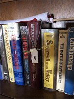 SHELF OF CIVIL WAR BOOKS