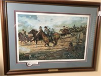 """""""RIDE TO GLORY"""" FRAMED PRINT"""