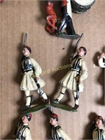 "LOT OF METAL ARMY FIGURES ""BRITAINS LTD"""