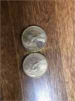 LOT OF U.S. DOLLAR COINS