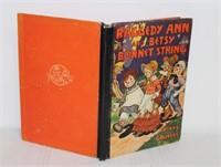 Raggedy Ann and Betsy Bonnet String