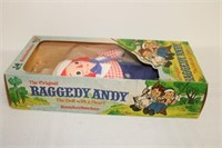 Raggedy Ann & Andy dools in original boxes