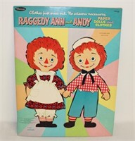 Raggedy Ann & Andy Paper Dolls & Clothes