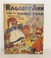 Raggedy Ann & the Hoppy Toad coloring book