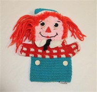 2 sets of Raggedy Ann Dolls and hand puppet