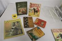 box lot of antique children books