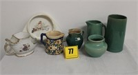 box lot of mis. Pottery