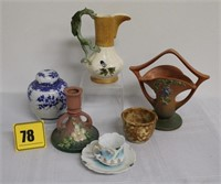 misc pottery & china (as is)