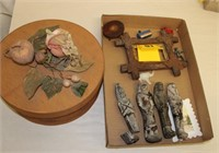 Eqyttian figures as-is & misc items
