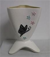 "Hull Butterfly 10"" vase"