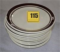 12 - McCoy dinner plates