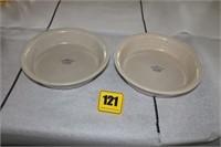 2 RRP  pie plates