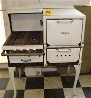 early Tappan porcelain stove