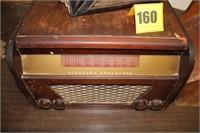 Old record player/radio, Shoe shine, Bible