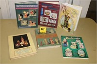 6 Collector books