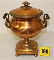 """old 13"""" Copper tureen"""