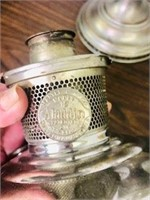 Pr. antique  Aladdin oil lamp  bases