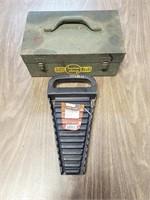 Metal Box & Wrench Holder