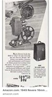 1940s Revere Movie Projector