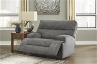"Ashley 453 Coombs Charcoal 50"" Wide Seat Recliner"
