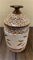 Temptations Old World Cookie Jar