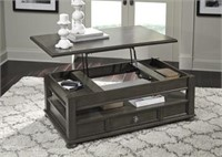 Ashley T534-9 Devensted Lift Top Cocktail Table