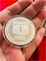 One Ounce Silver Token MLB Greg Maddux