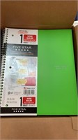 12 Wide Ruled Notebooks