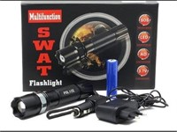 Swat LED Multifunction Flashlight
