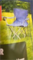 Durable Steel Frame Chair (Blue)