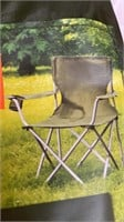 Durable Steel Frame Chair (Army Green)