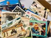 Big Box lot of Vintage postcard lot