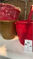 (3) XTra Large Miracle Mop Buckets
