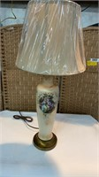 Victorian Lamp with new Shade