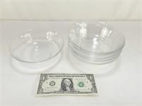 6 Glass Bowls