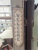 Lace Door Welcome