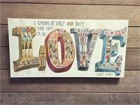 Love On Canvas